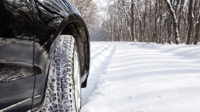 шофиране зимата