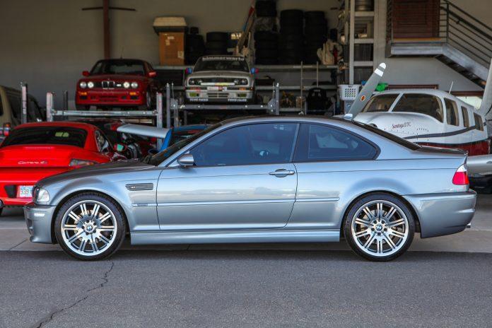 BMW M3 E46 Silver Grey