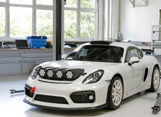 Cayman GT4 Rally