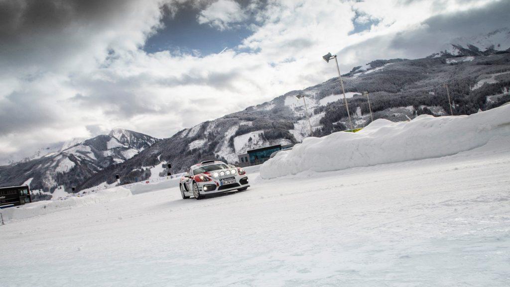 Cayman GT4 Rallye